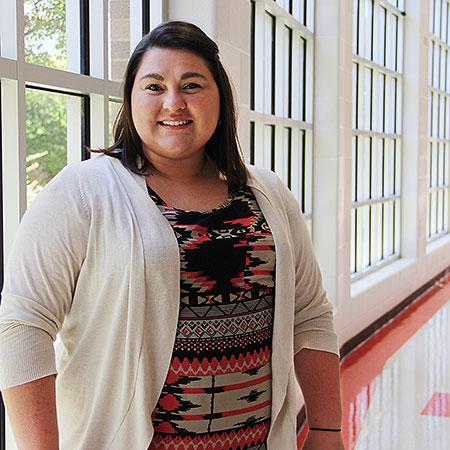 K'Lynn Childress, director of theatre arts at Waco High School